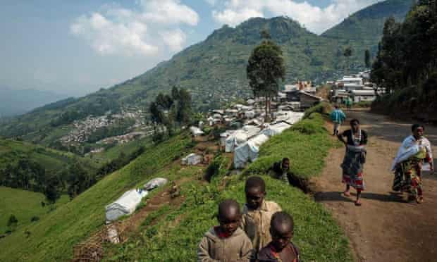 For these displaced people in North Kivu continued political instability is making for an uncertain future.