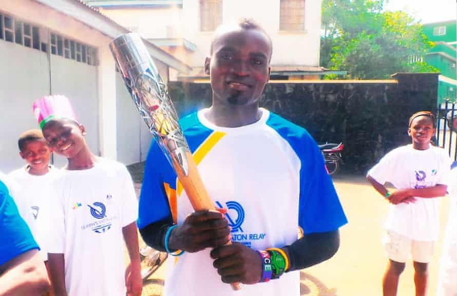 Thoronka was the first athlete in Sierra Leone to carry the Queen's baton in the run up to the games