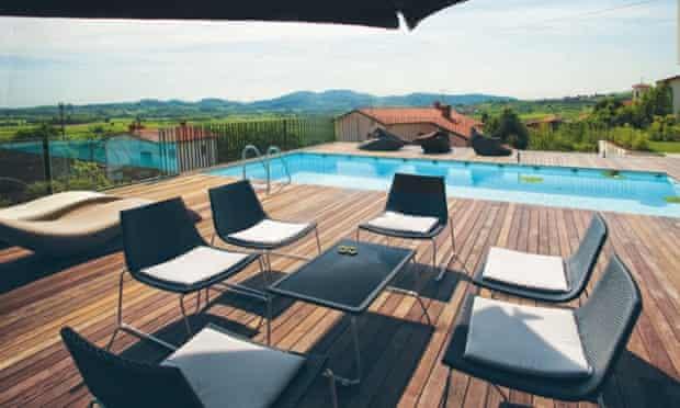 View from Vineyard View, Slovenia Villa Holidays