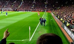Manchester United v Chelsea video grab
