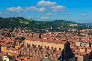 Bologna, Aerial view