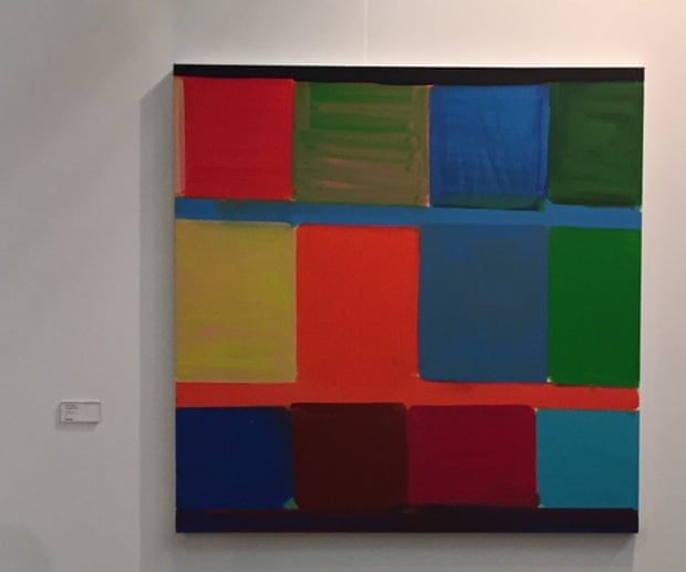 Stanley Whitney, Galerie Baronian, Armory
