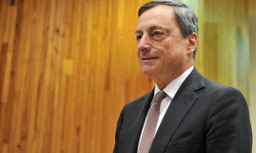 European Central Bank (ECB) chief Mario Draghi