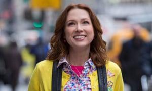 No longer a 'mole woman': Ellie Kemper in Unbreakable Kimmy Schmidt.