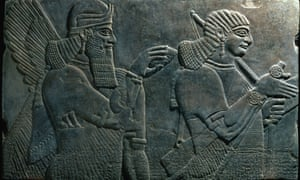 Bas-Relief from the Palace of Ashpurnal II at Kalhu in Nimrud