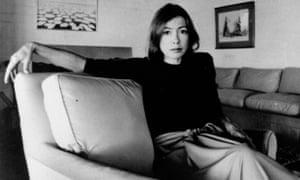 Joan Didion in 1977: a light packer.