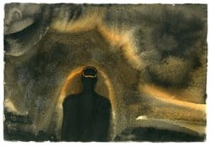 Evening IV by Antony Gormley.