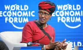 Winnie Byanyima executive director at Oxfam International