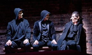 Mike Bartlett's King Charles III at the Almeida theatre