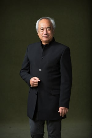 Witi Ihimaera, author of The Whale Rider, perhaps the best-known Maori writer today. The Maori language was suppressed for many years.