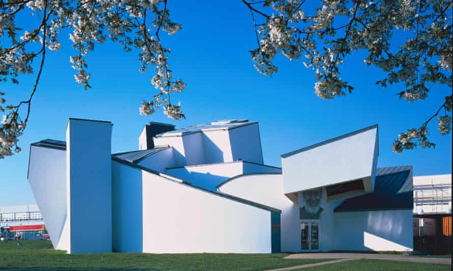 The Frank Gehry-designed Vitra design museum in Basel, Switzerland
