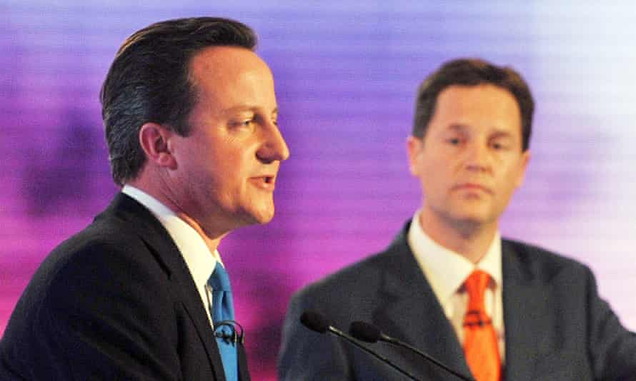 David Cameron has offered to take part in one multi-party election debate