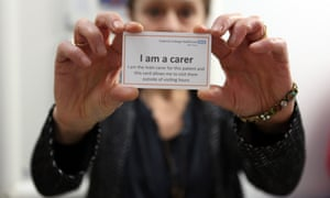 Schemes allowing carers to remain with dementia patients in hospitals are already in place in some parts of the country. Campaigners hope to extend it to all hospitals.