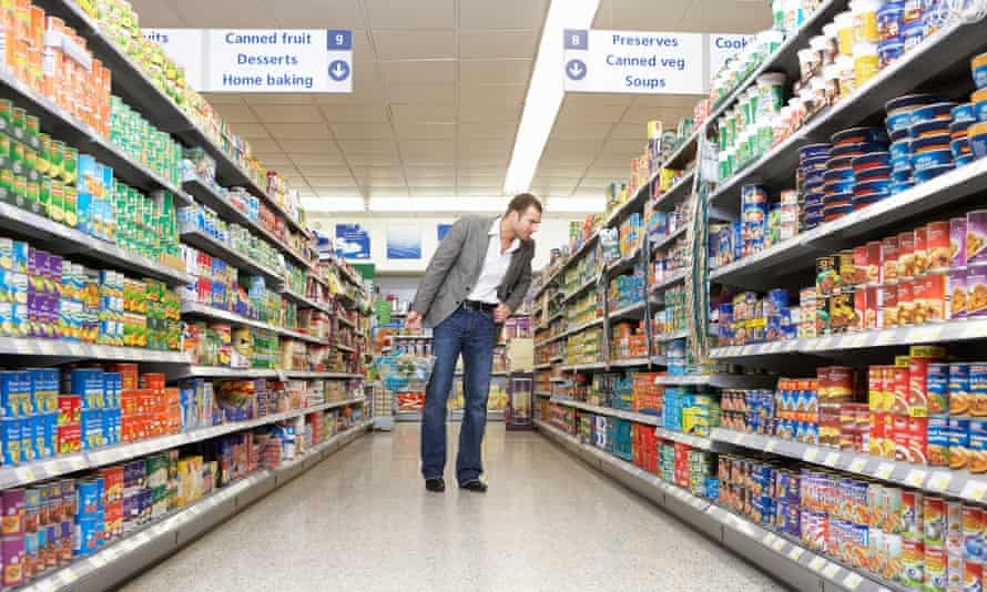 There's a lot of existential angst potentially hiding in your shopping basket.