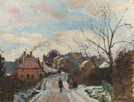 Fox Hill, Upper Norwood, 1870 by Camille Pissarro.