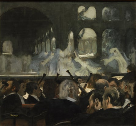 The Ballet Scene from Meyerbeer's Opera Robert le Diable, 1876 by Degas.