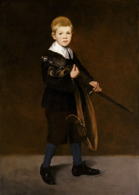 Edouard Manet's Boy with a Sword, 1861.