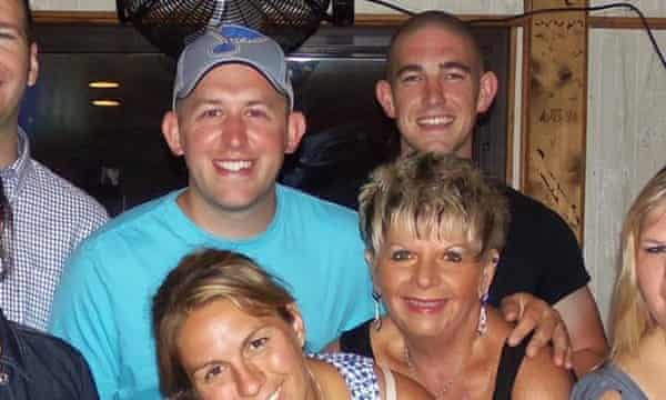 Mary Ann Twitty with Darren Wilson