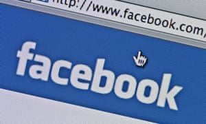 A Facebook page. The case in France could have implications for the social media site Facebook and other US internet firms.