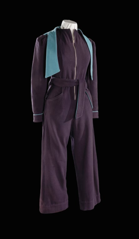 'Just the thing to pull on in a hurry': a siren suit.