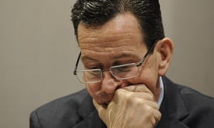 Dannel Malloy: 'There's just not a big appetite for even talking about guns at the moment in the state of Connecticut.'