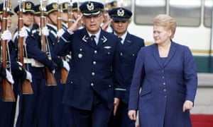 Dalia Grybauskaite became Lithuania's first woman president in 2009 and was re-elected in 2014. The Baltic state is ranked 44th out of 142 countries in the 2014 Global Gender Gap report.