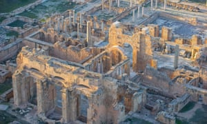 Dating back to 1000BC, Leptis Magna has some of the most spectacular Roman ruins in the region.