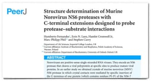 Front page of the scientific paper discussed in the article