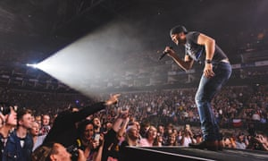 Luke Bryan at Country 2 Country festival in London
