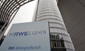 Germany's RWE energy giant sold its DEA oil subsidiary to the L1 Group.