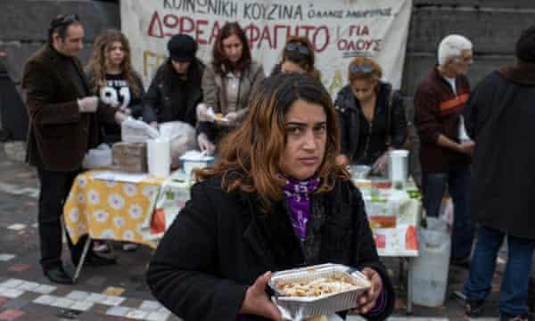 Soup kitchen Athens