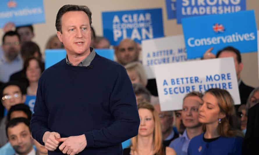 David Cameron in Harrow