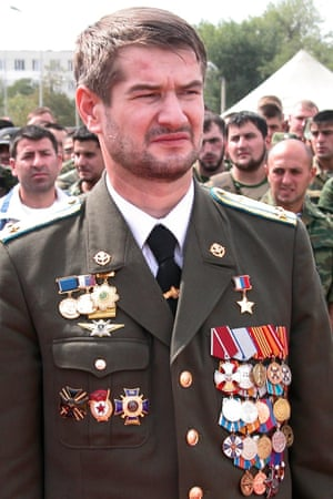 The Chechen commander Sulim Yamadayev, who was murdered in Dubai. Ramzan Kadyrov's cousin Adam Delimkhanov, who is a Russian MP, and seen as Kadyrov's right-hand man, is a suspect in the case.