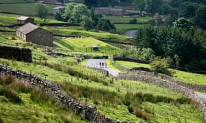 Cyclists in action in Yorkshire. Taking dope is on the increase lower down the competitive ladder
