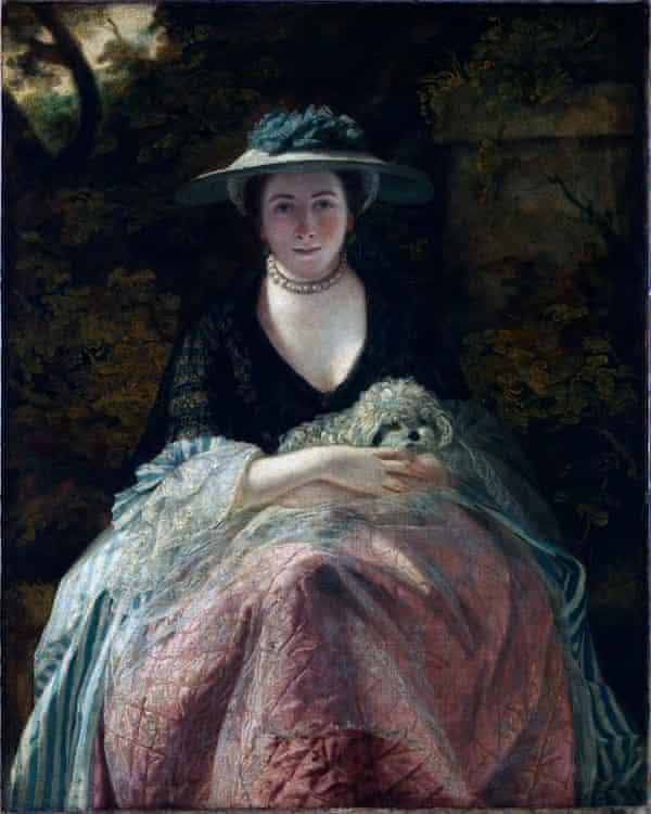 Miss Nelly O'Brien, circa 1762-1764.