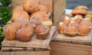 Delicious donuts from the pop-up bakery at Melbourne Food & Wine Festival 2015.
