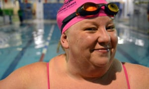 Sally Goble at Finchley leisure centre