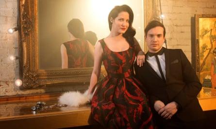 Electro Velvet's Alex Larke and Bianca Nicholas/