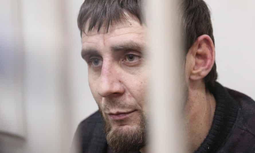 Zaur Dadayev in court.