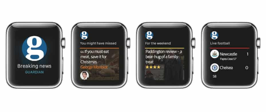 The Guardian on Apple Watch