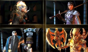 The titans will be key characters in Dawn of Titans.