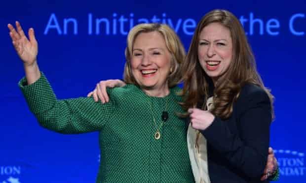 Hillary Rodham Clinton and Chelsea Clinton