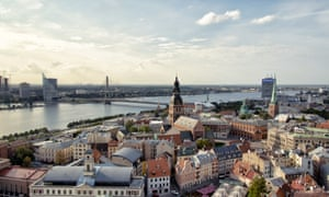 The Latvia capital of Riga