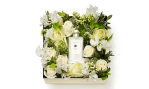 Jo Malone box with flowers