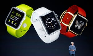 Apple CEO Tim Cook first announced the Apple Watch in September 2014.