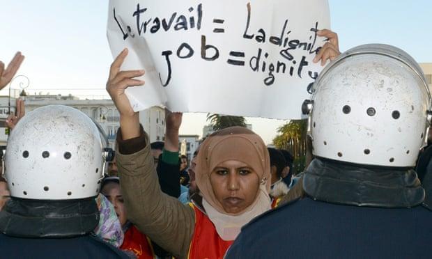 Protest Morocco