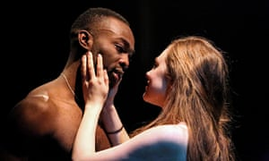 Paapa Essiedu as Romeo and Daisy Whalley as Juliet