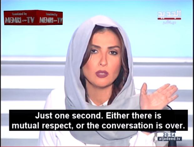 Lebanese TV Host Rima Karaki.