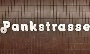Pankstrasse on the U8.
