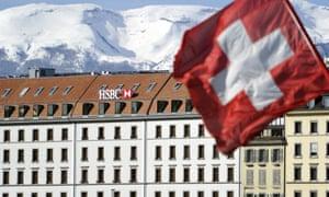 An HSBC office in Geneva